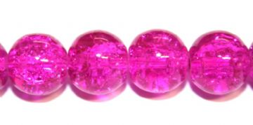 10mm crackle glass beads